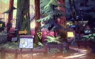 Gravity Falls Art 7 Cool Hd Wallpaper