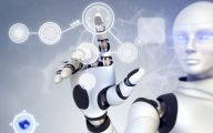 Artificial Intelligence Robot 27 Background