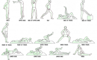 Different Aerobic Activities 37 Background Wallpaper