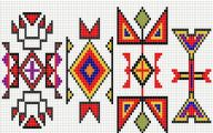 Free Native American Beadwork Patterns 17 High Resolution Wallpaper