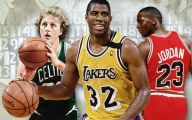 Greatest Basketball Players Of All Time 3 Free Wallpaper