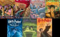 Harry Potter Books 24 Desktop Background
