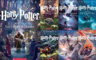 Harry Potter Books 26 High Resolution Wallpaper