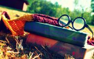 Harry Potter Books 29 High Resolution Wallpaper
