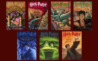 Harry Potter Books 9 High Resolution Wallpaper