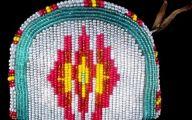 Native American Beadwork 63 Background