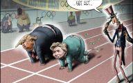 Clinton Trump Election Political Cartoon 29 Desktop Background