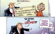 Clinton Trump Election Political Cartoon 32 Cool Hd Wallpaper