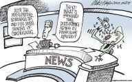 Clinton Trump Election Political Cartoon 35 High Resolution Wallpaper