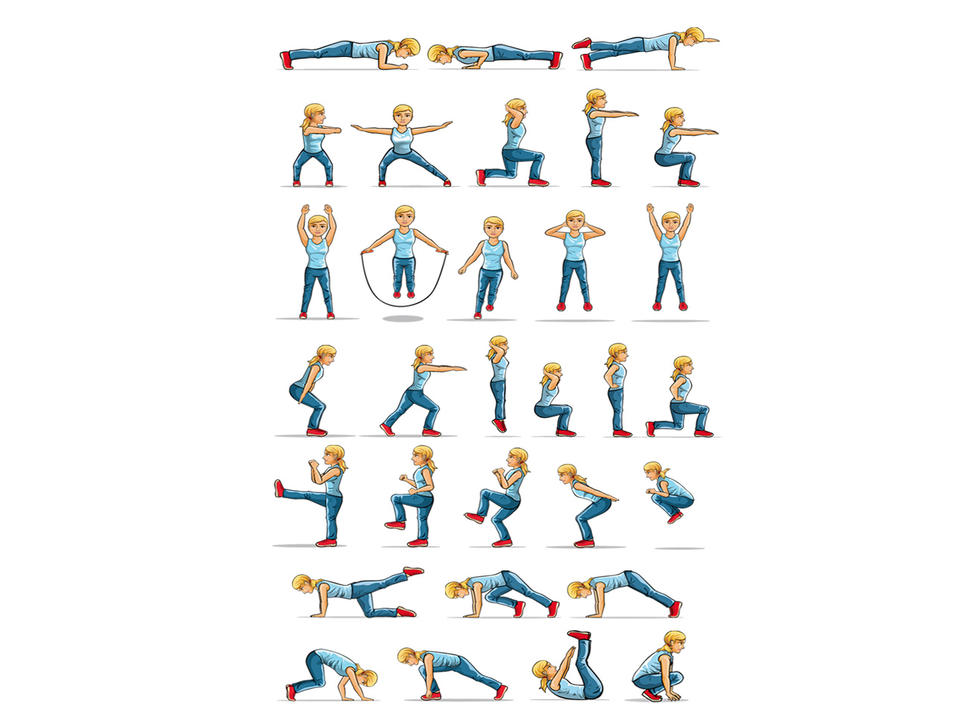 Different Aerobic Activities 29 Wide Wallpaper Listtoday