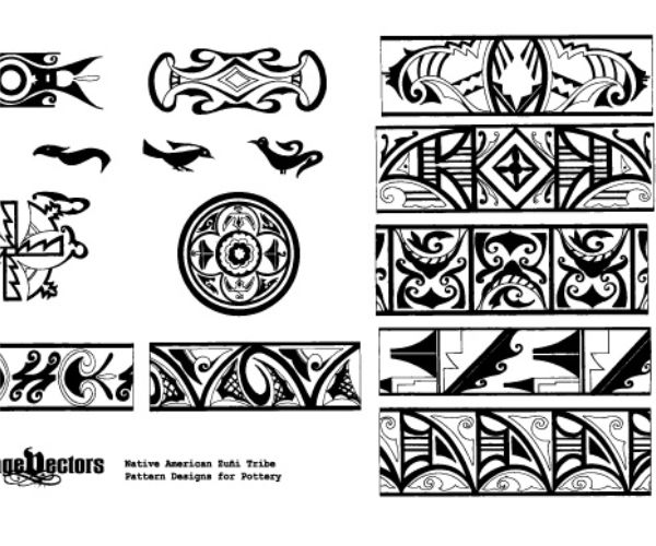 native american pottery designs and patterns www