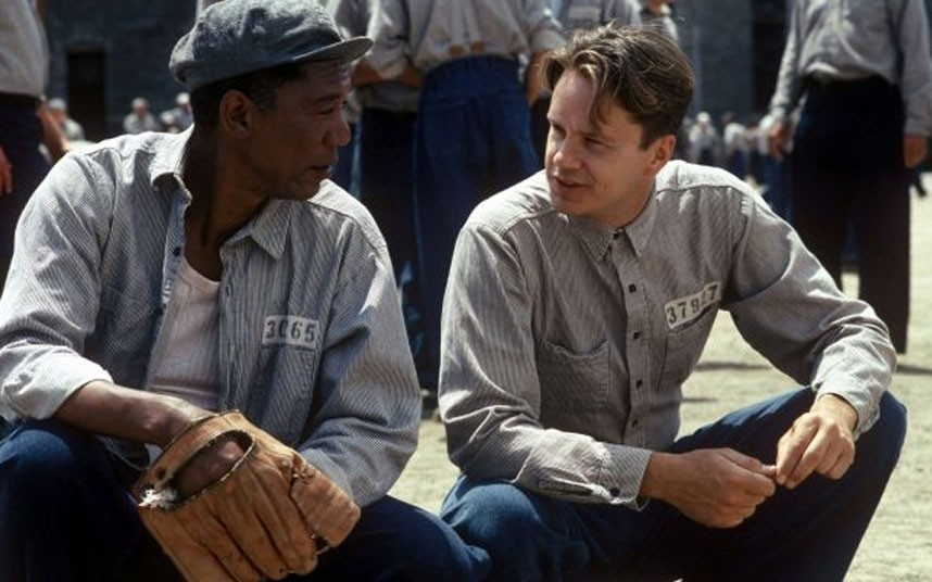 a review of both novel and the movie shawshank redemption Rita hayworth and shawshank redemption has 14,382 ratings and 894 reviews nataliya said: remember that hope is a good thing, red, maybe the best of thi rita hayworth and shawshank redemption has 14,382 ratings and 894 reviews.